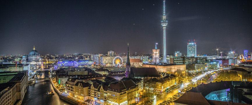 Umzug in Berlin - Berlin Skyline