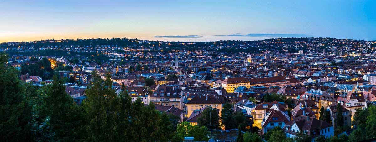 Stuttgart von oben